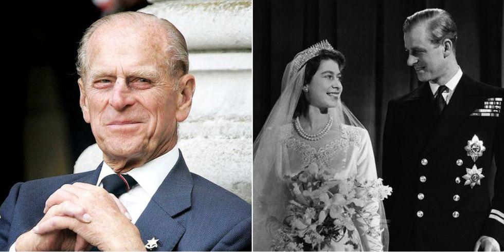 菲利普亲王与伊丽莎白二世