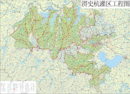 淠史杭灌区工程示意图