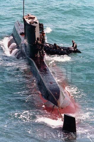 韩国军队登上朝鲜间谍潜艇