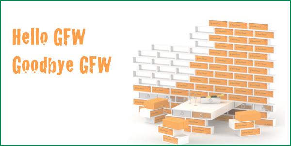Hello GFW, Goodbye GFW