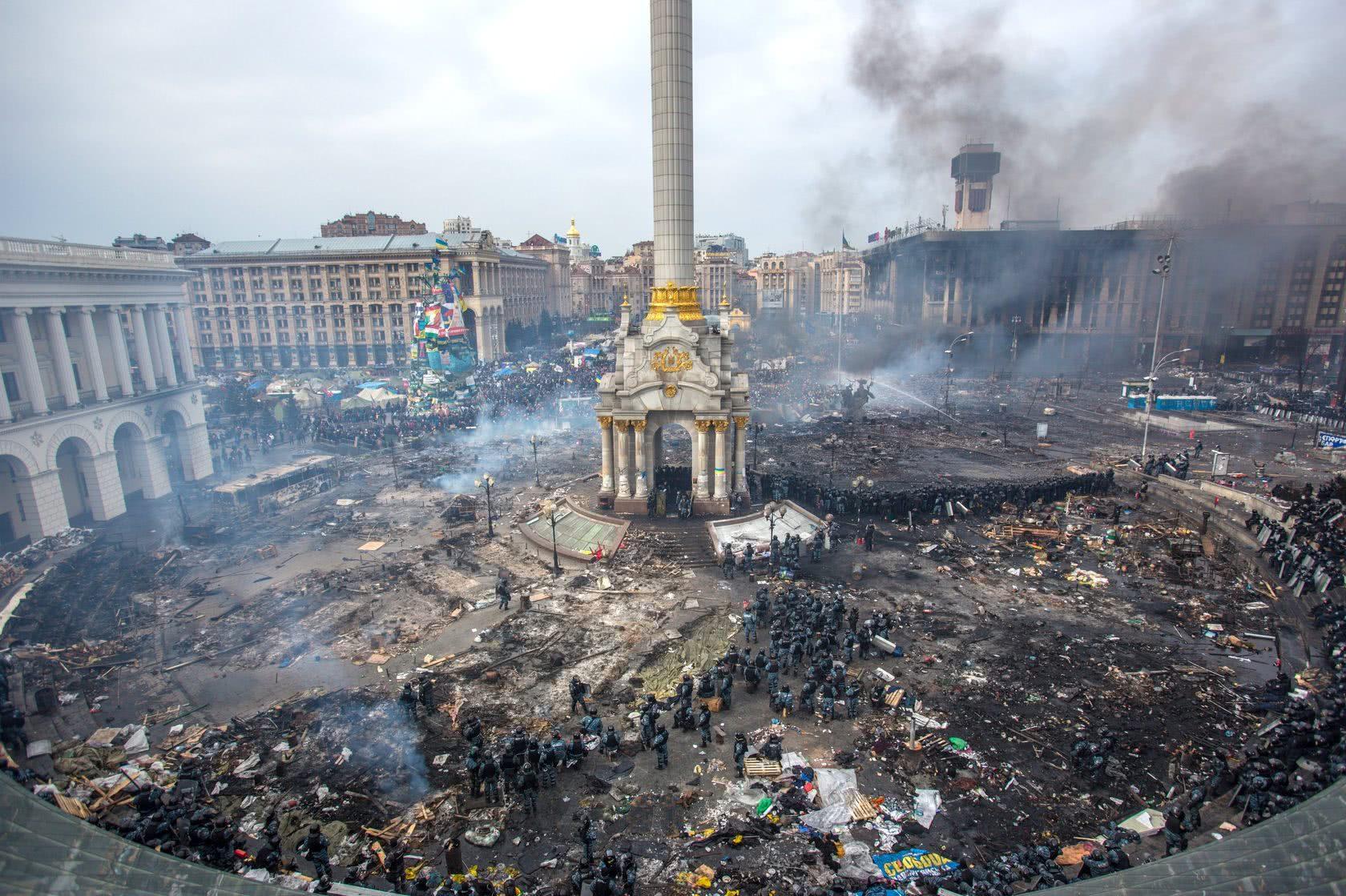 2014年的基辅独立广场